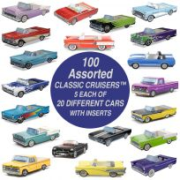 Classic Cruisers ® Assorted Cars & Trucks Pack of 100