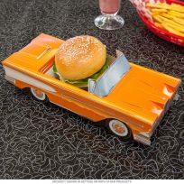 Classic Cruisers ® 58 Ford Edsel Pacer Carton Orange