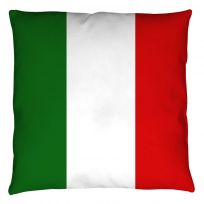 Italian National Flag Throw Pillow