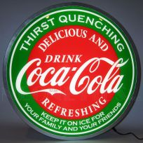 Coca-Cola Evergreen Backlit LED Sign