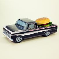Classic Cruisers ® Black 66 Ford Truck Carton