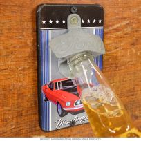 Ford Mustang Wall Mounted Bottle Opener