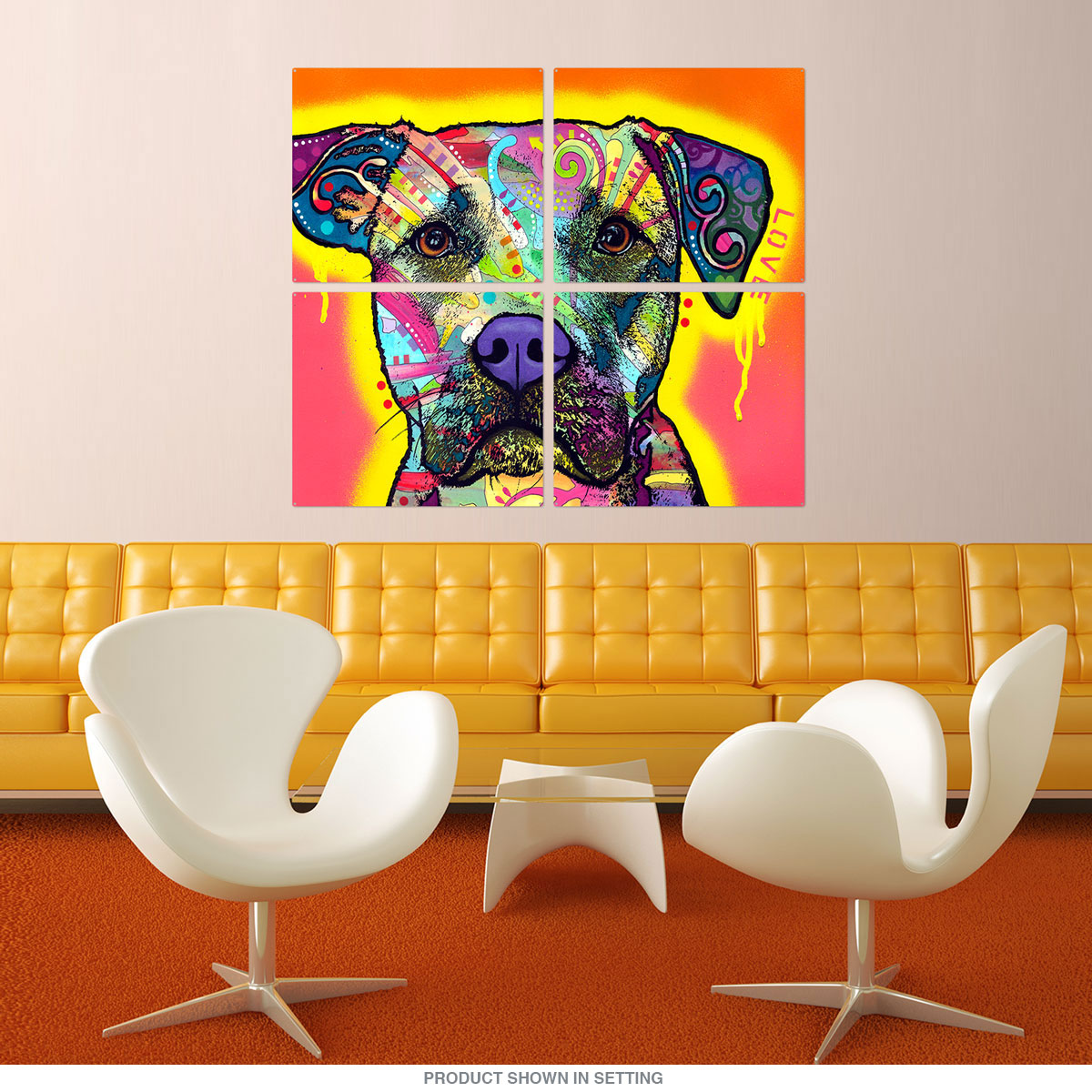 Fancy Pit Bull Wall Decor Pictures - Gallery Wall Art - factografia.com