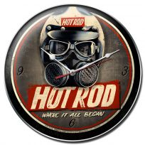 Hot Rod Magazine Where It All Began Wall Clock