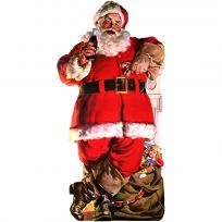 Coca-Cola Santa with Toy Bag Wall Decal