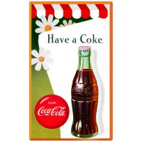 Coca-Cola Daisies Have a Coke Wall Decal