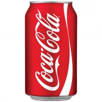 Modern Coca-Cola Can Decal