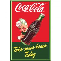 Coca-Cola Sprite Boy Take Some Home Bottle Decal