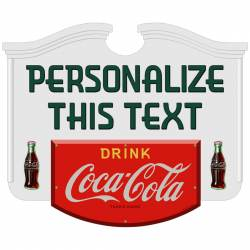 Personalized Coca Cola Stickers Great For Business Favors Reunions