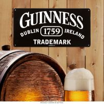 Guinness Trademark 1759 Dublin Ireland Beer Sign