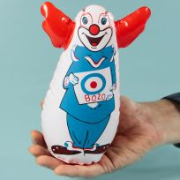 Bozo the Clown Finger Bop Bag Classic Toy