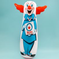 Bozo the Clown Bop Bag Inflatable Classic Toy