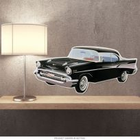 Chevrolet Bel Air 1957 Classic Car Cutout Sign