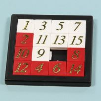 Sliding 15 Tile Puzzle Numbered Classic Pocket Game