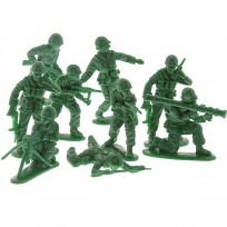 Green Army Men Toy Soldiers 40 Piece Set