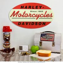 Harley-Davidson 1903 Embossed Oval Tin Sign