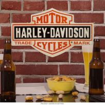 Harley-Davidson Bar and Shield Tin Garage Sign