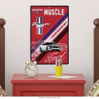 Ford Mustang Legendary Muscle Car Garage Metal Sign_D