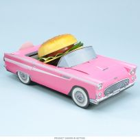 Classic Cruisers 1956 Ford Thunderbird Hot Pink Carton