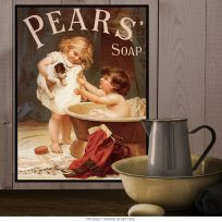 Pears Soap Bath Reproduction Metal Sign