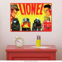 Lionel Model Trains Father and Son Metal Sign