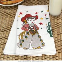 Little Cowgirl Kitchen Dish Towel