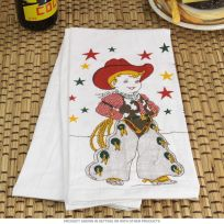 Little Cowboy Kitchen Dish Towel