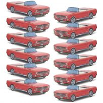 Classic Cruisers ® 12 Pack Red 64 1/2 Mustang