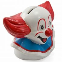 Bozo the Clown Ceramic Novelty Coin Bank_D