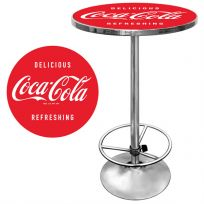 Coca-Cola Refreshing Standing Bar Table