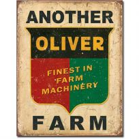 Another Oliver Farm Vintage Tin Sign