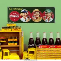 Coca-Cola Go Refreshed Military Beauties Sign