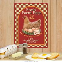 Farm Fresh Eggs For Sale Country Kitchen Sign