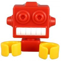 Robot Novelty Toothbrush Holder Assorted Colors_D