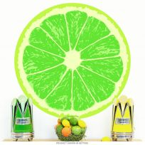 Lime Fruit Slice Citrus Kitchen Wall Decal