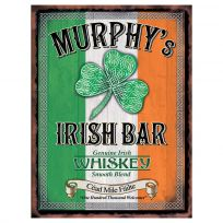 Murphys Irish Bar British Pub Metal Sign
