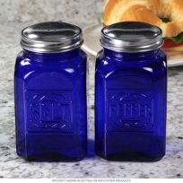 Cobalt Blue Salt and Pepper Shakers
