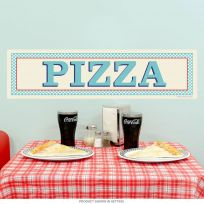 Pizza Italian Food Wall Decal