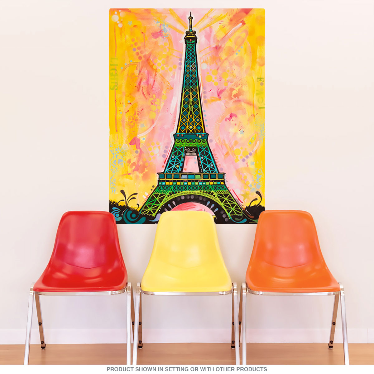 Eiffel Tower Paris France Dean Russo Wall Decal | Travel Wall Decor ...