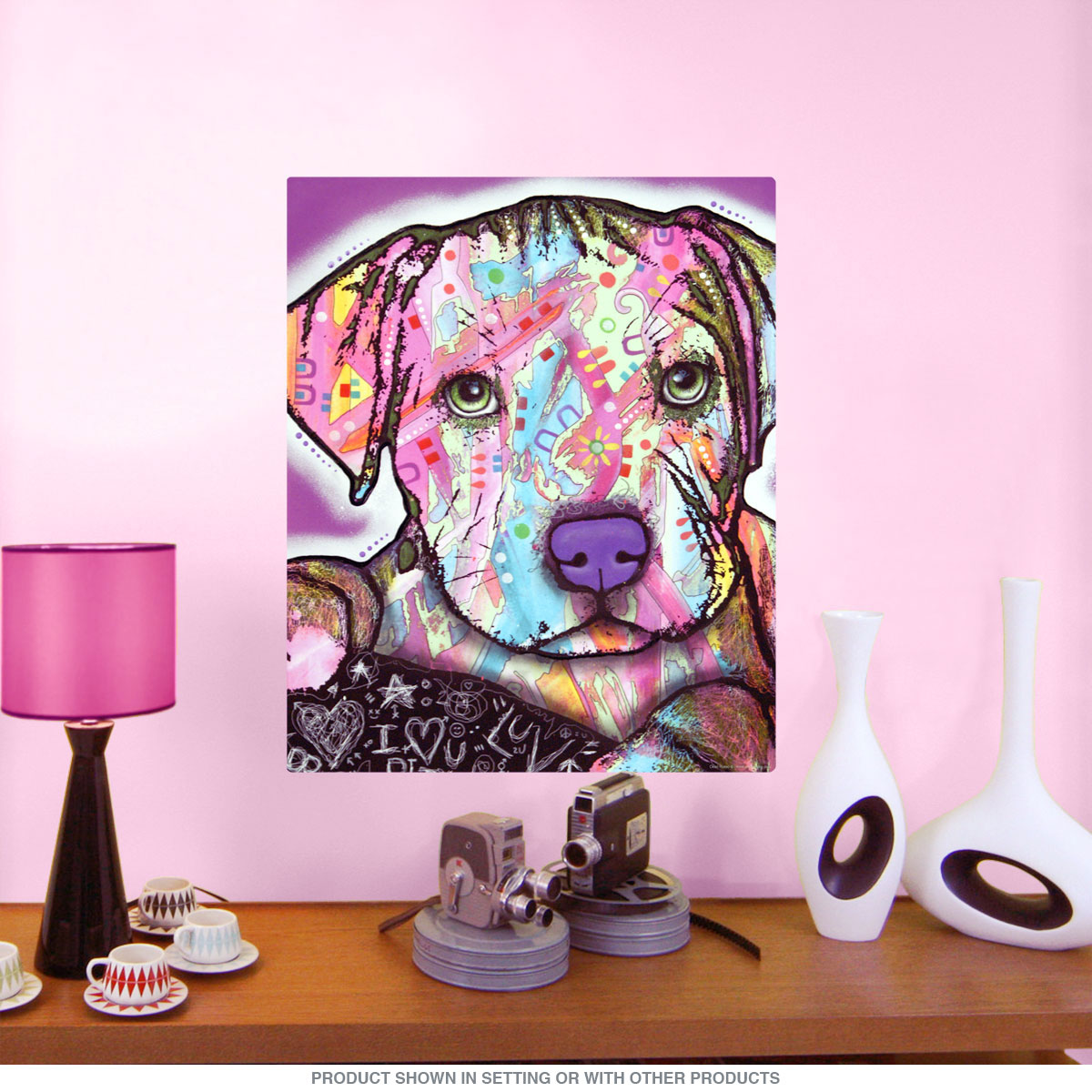baby pit bull dog dean russo pop art wall decal pet wall decor baby pit bull dog dean russo pop art wall decal pet wall decor retroplanet com
