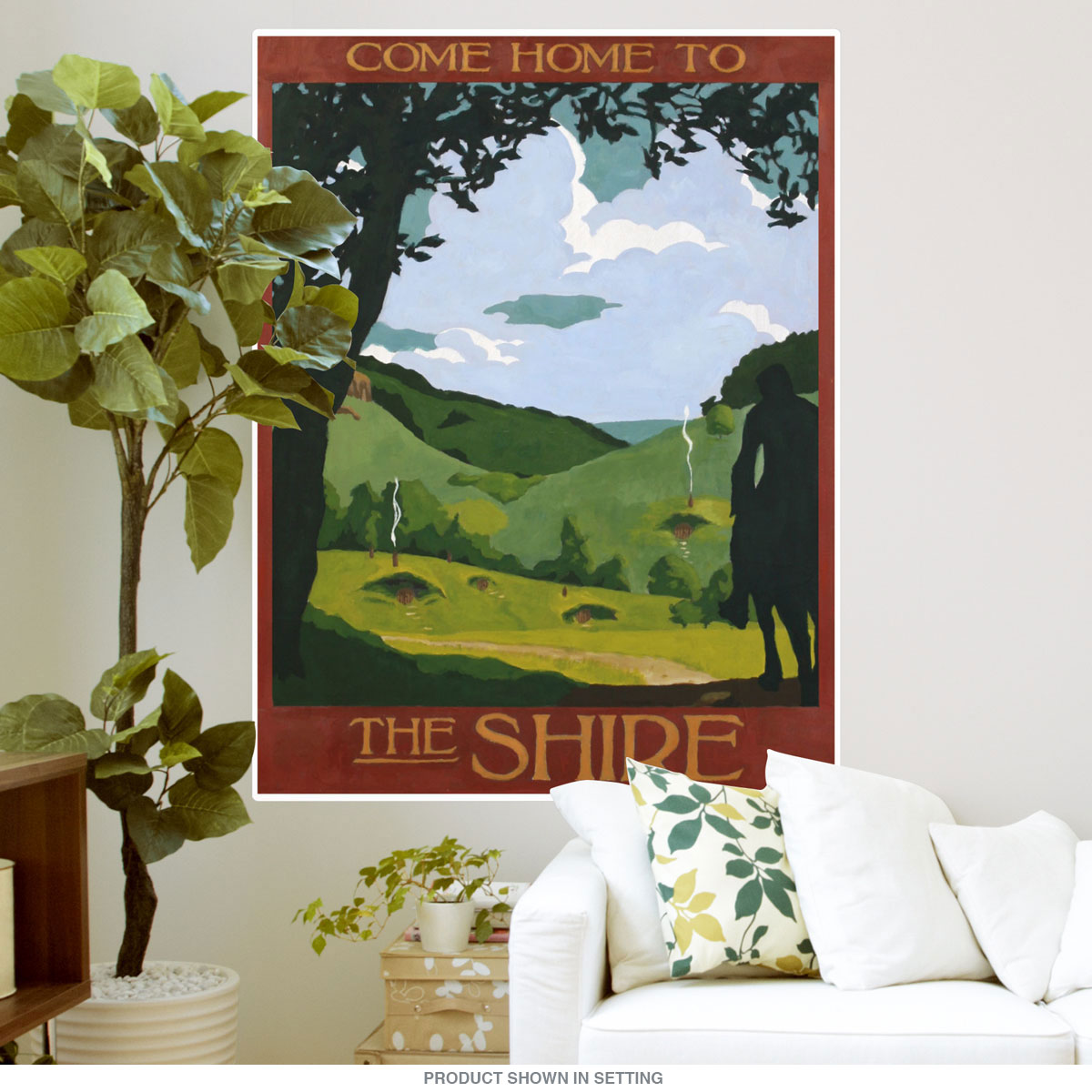 Shire lord of the rings wall decal home theater decor bizrate store ratings summary amipublicfo Choice Image