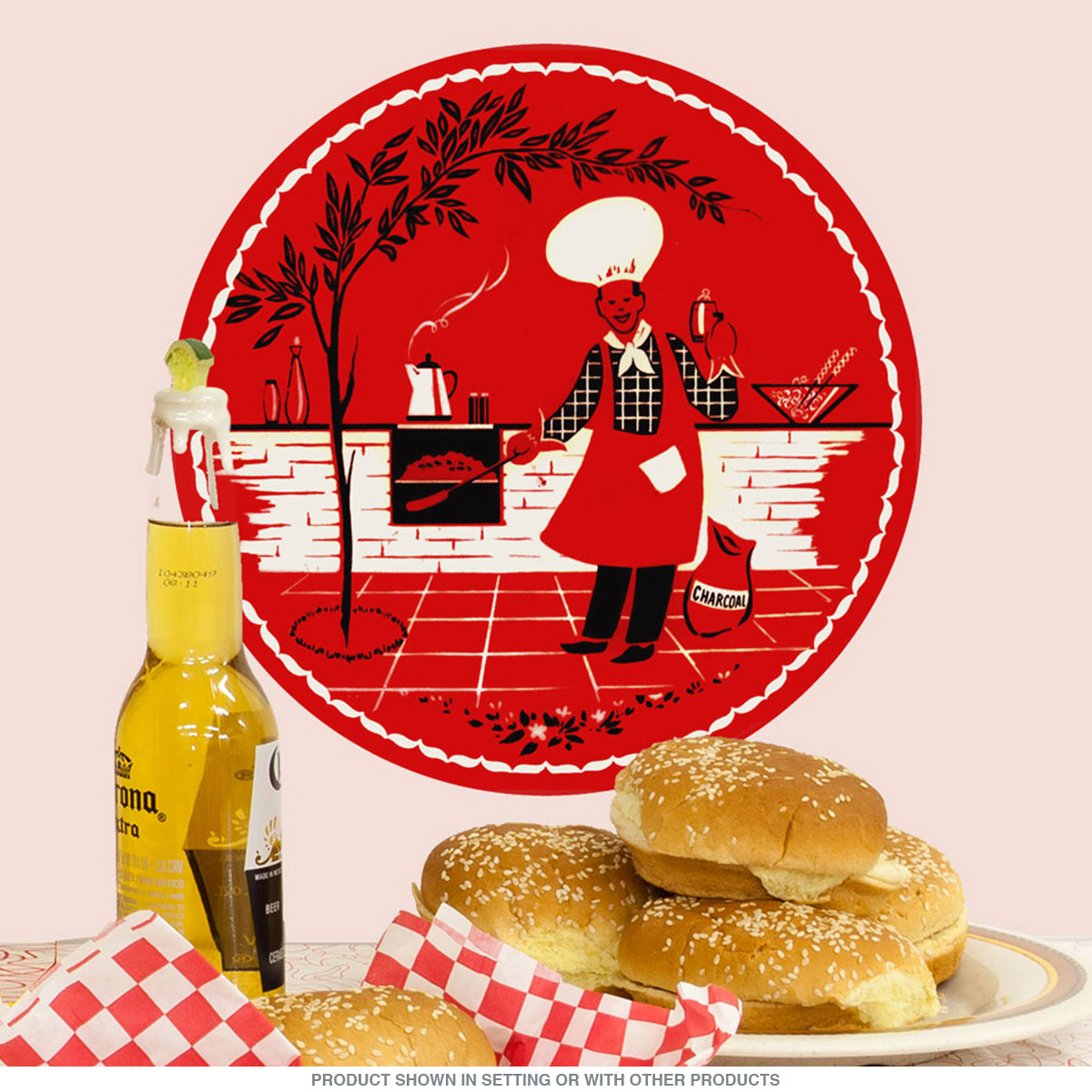 Image Barbecue BBQ Cookout Chef Wall Decal