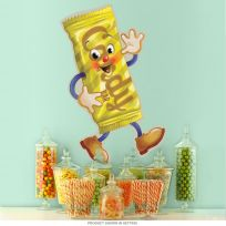 Candy Bar Dancing Snacks Theater Wall Decal