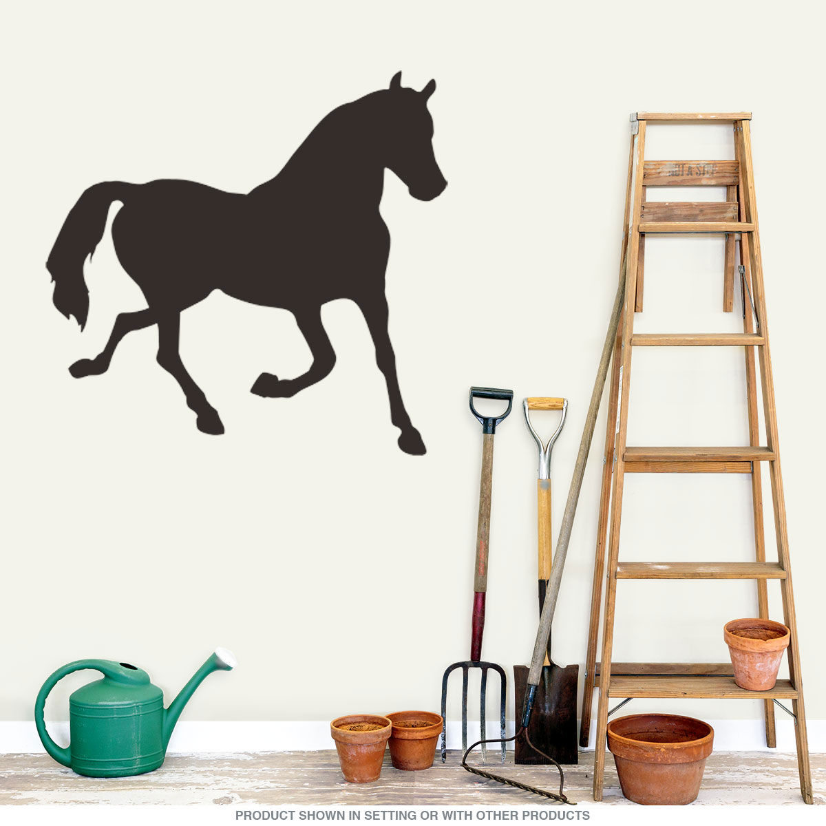 Horse Cutout Chalkboard Wall Decal   Country Kitchen Decor ...