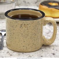 Campfire Coffee Mug Speckled Beige_D