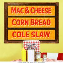 BBQ Sides Southern Barbecue Wall Decal