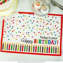 Today Is Your Happy Birthday Placemat_D