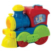 Bubble Blowing Bump N Go Train Toy