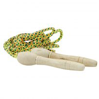 Wood Handle Jump Rope Classic Kids Toy