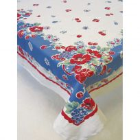 Very Berry Fruit Cotton Kitchen Tablecloth 65 x 52